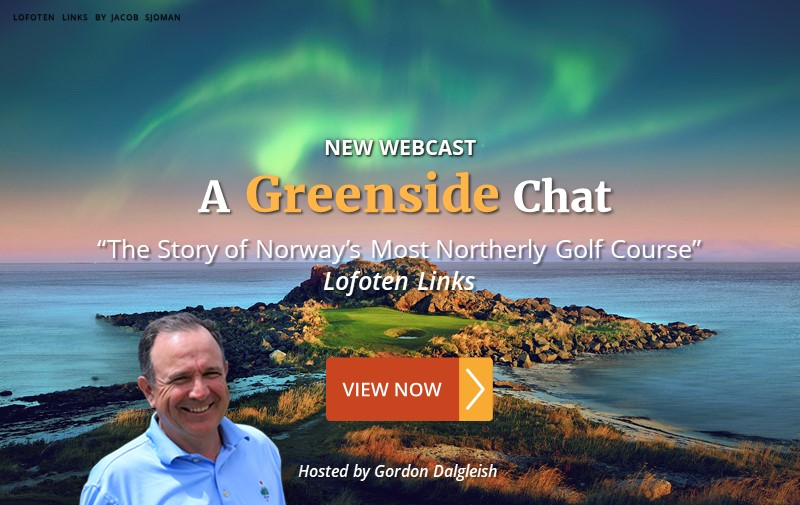 """NEW WEBCAST: """"The Story of Norway's Most Northerly Golf Course"""" ~ Lofoten Links"""