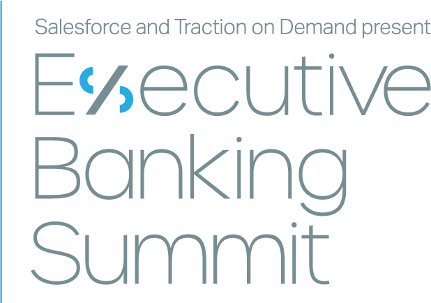 Logo, text: 'Salesforce and Traction on Demand Present Executive Banking Summit, Sept 16, 2020'
