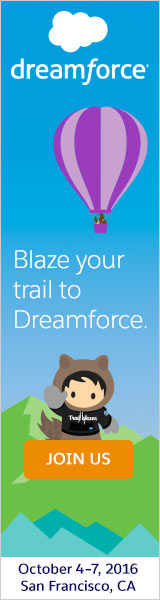 Dreamforce. October 4-7, 2016   San Francisco, CA. Innovation, giving and fun. All snowballed into one rockin' event. Register Now.