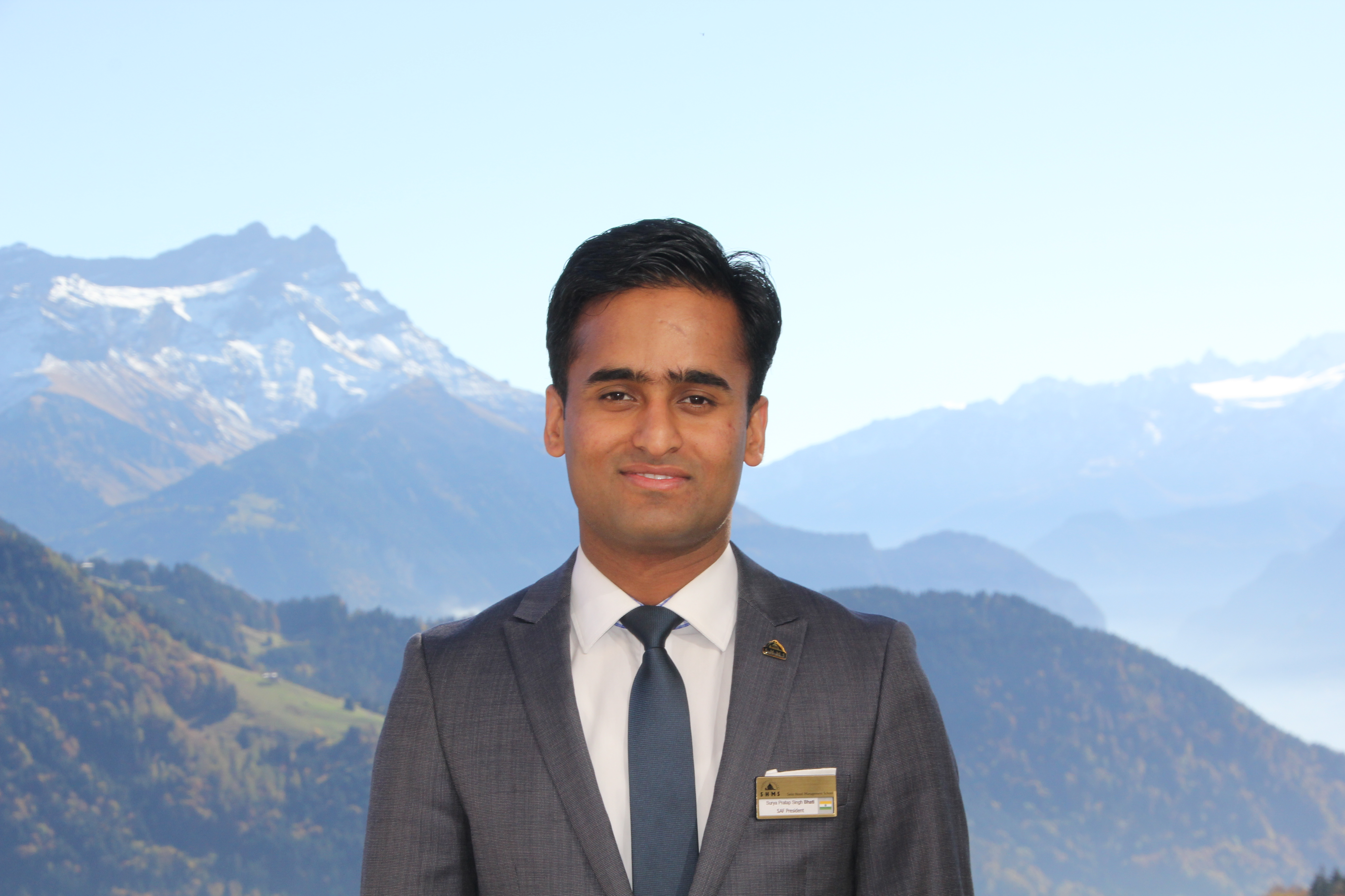 Surya Pratap Singh Bhati, SEG Alumni Ambassador for India