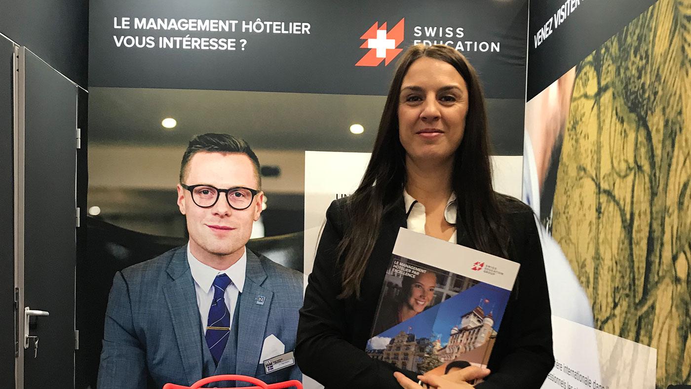 Cristèle Mazza, Conseillère d'éducation pour Swiss Education Group