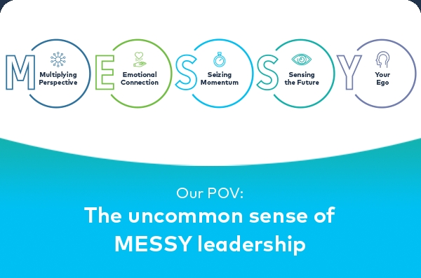 Our POV: The Uncommon sense of MESSY leadership