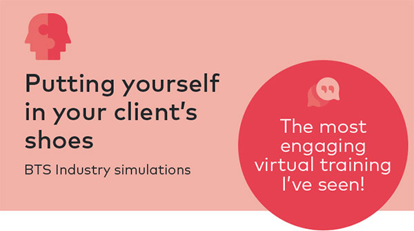 Putting yourself in your client's shoes