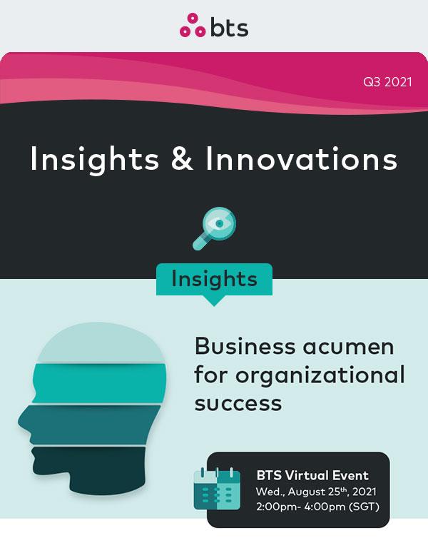 Business acumen for organizational success