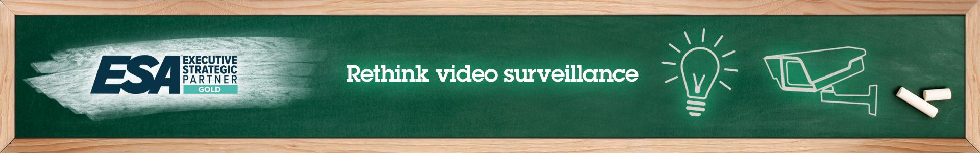 Rethink video surveillance