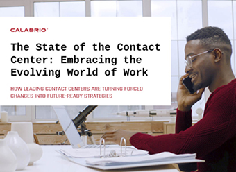 Cover of The State of the Contact Center Report