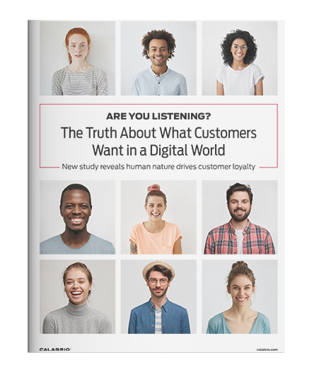 Cover of Are You Listening? The Truth about What Customers Want in a Digital World