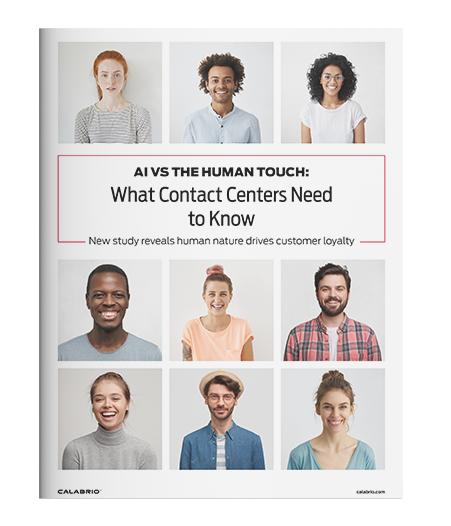 Cover of AI vs the Human Touch: What Contact Centers Need to Know