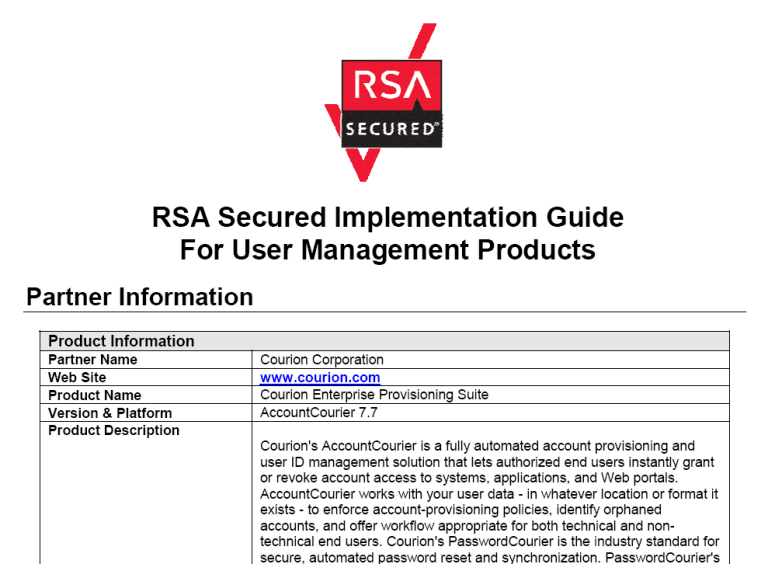 Implementation Guides