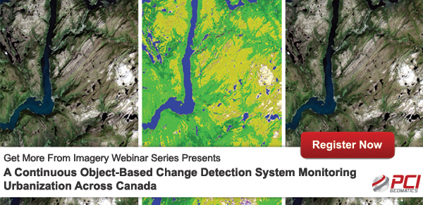 PCI Geomatics Webinar | A Continuous Object-Based Change Detection System Monitoring Urbanization Across Canada