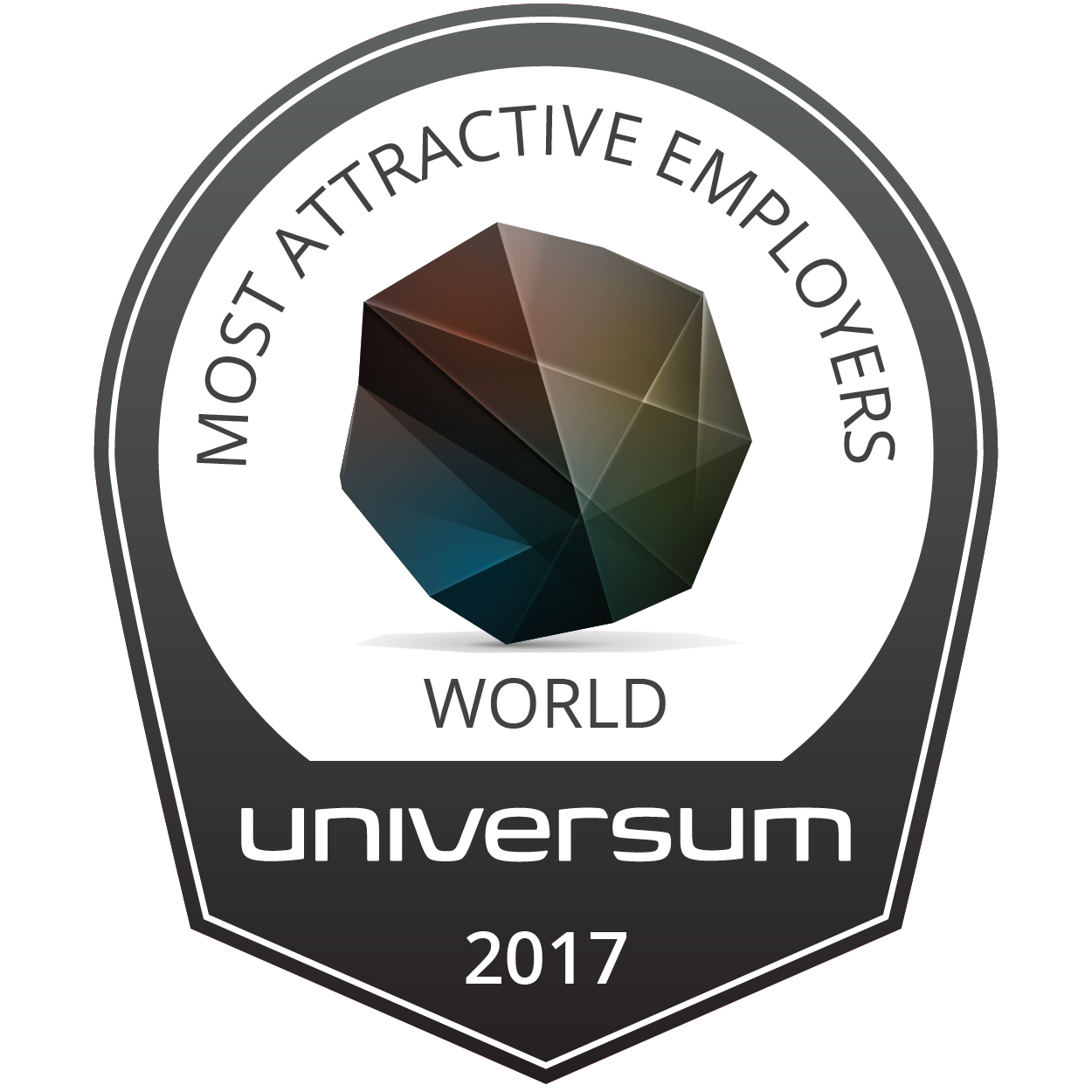 World's Most Attractive Employers Badge