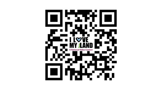 """I Love My Land"" National Video Contest QR Code"