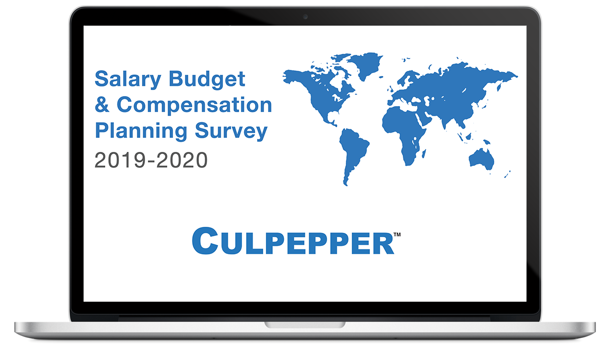 2019-2020 Salary Budget Survey