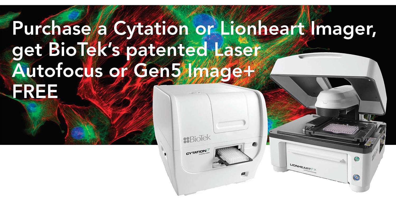 2020 Promo - Free Laser Autofocus or Gen5 Image+