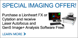 Lionheart FX Automated Live Cell Imager Debuts at Experimental Biology 2016
