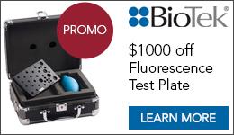 Fluorescence Test Plate Promo