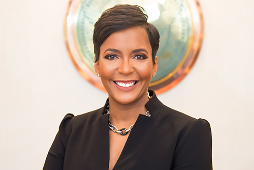 Image: Keisha Lance Bottoms, mayor of Atlanta