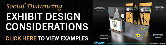 Social Distancing Designs for Exhibits by Skyline