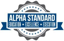 Alpha Standard Stamp