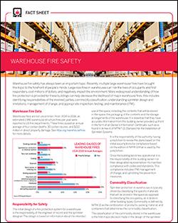 Warehouse Safety  Fact Sheet