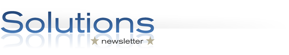 Solutions Newsletter