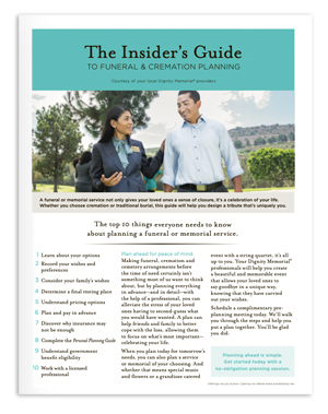 Download The Insider's Guide to Funeral & Cremation Planning PDF