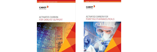 Activated Carbon for Catalyst Support brochure; Activated Carbon for Purifying Pharmaceuticals brochure