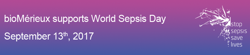 bioMérieux supports World Sepsis Day - September 13th, 2017