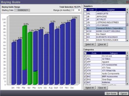 screen shot graph