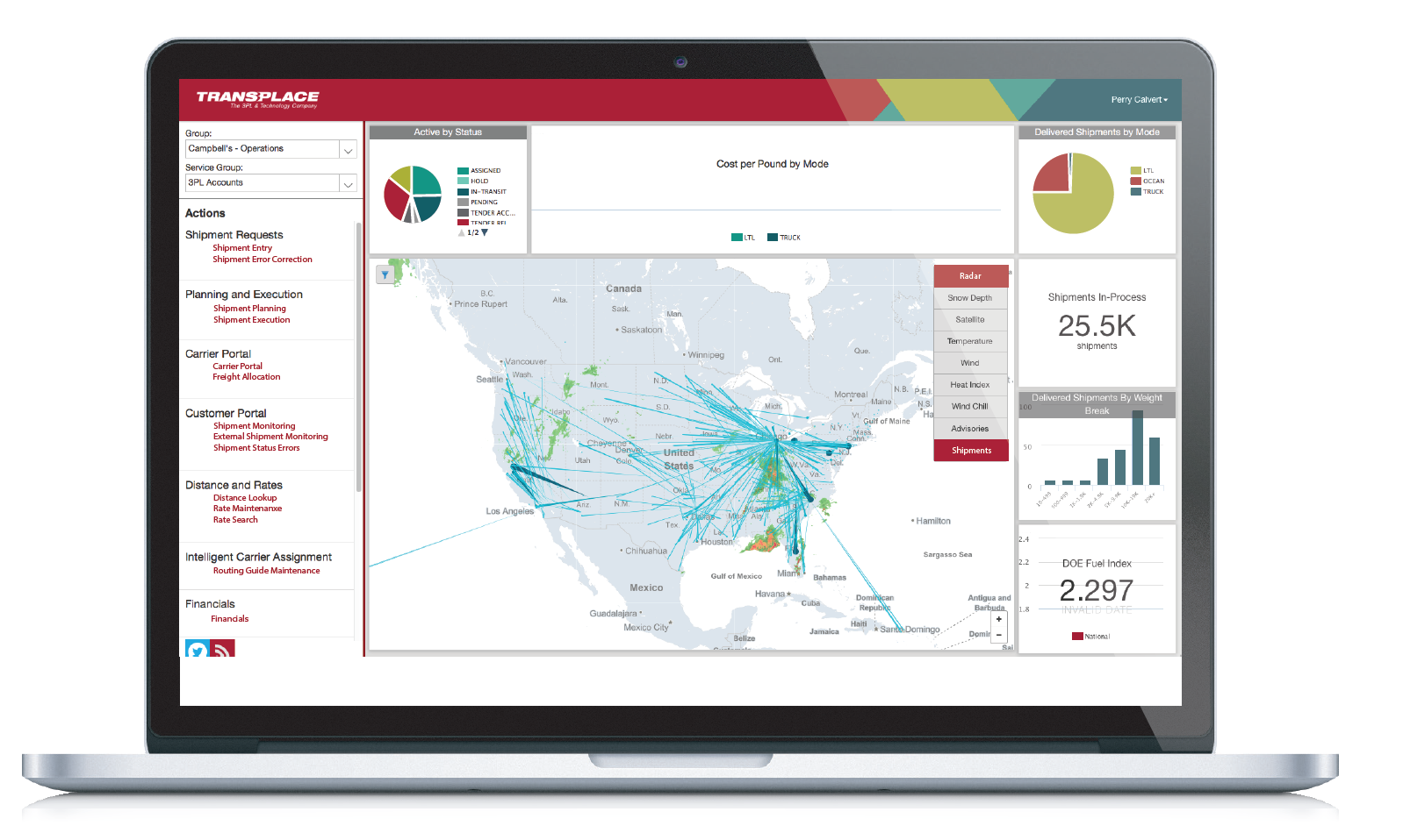transplace tms preview - 2