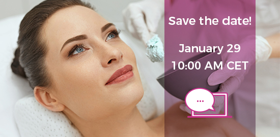 Live webinar on professional skin care market in Europe.