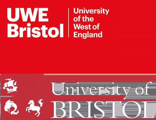 UWE and Bristol University logos