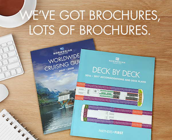 Deck by Deck. Fleet Brochure & More Collateral.