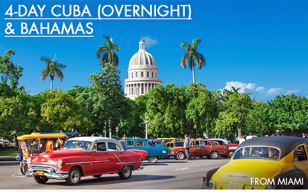 4-Day Cuba Cruise From Miami