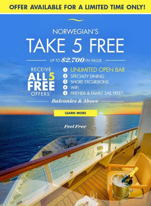 Take All 5 Free