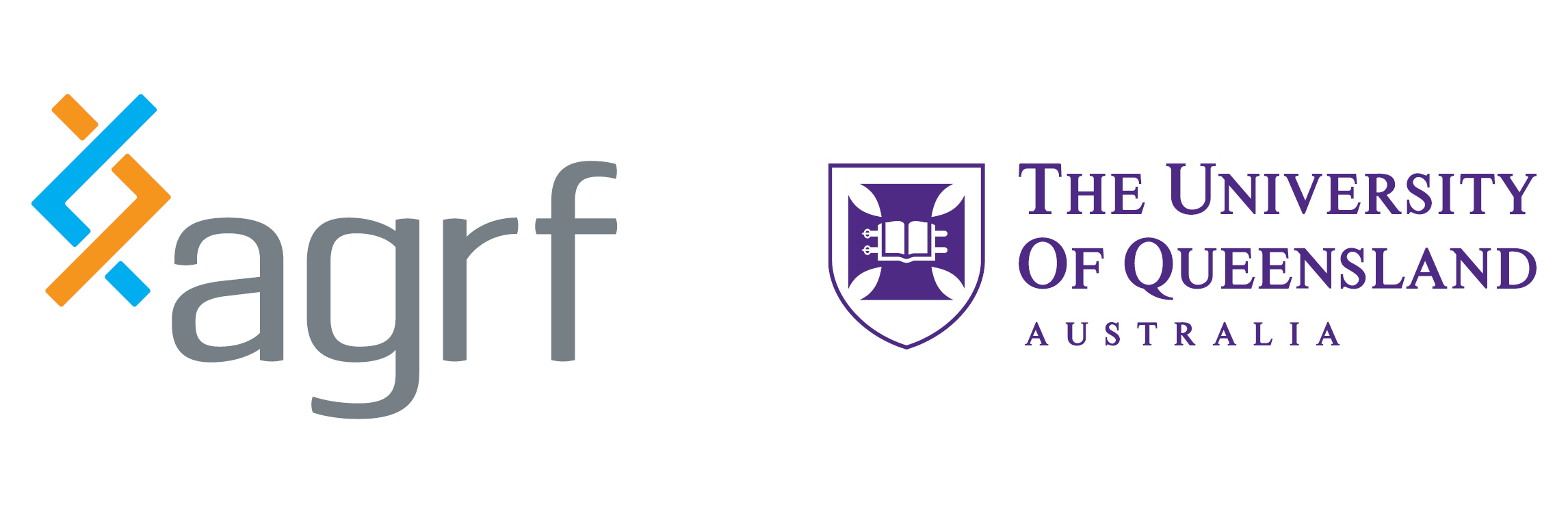 Our partner - AGRF and UQ