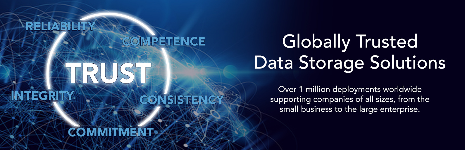 Globally Trusted Data Storage Solutions