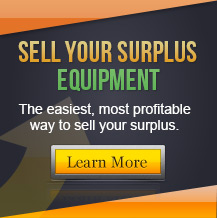 Sell Your Surplus Equipment