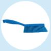 Smaple the Vikan soft bristle bench brush