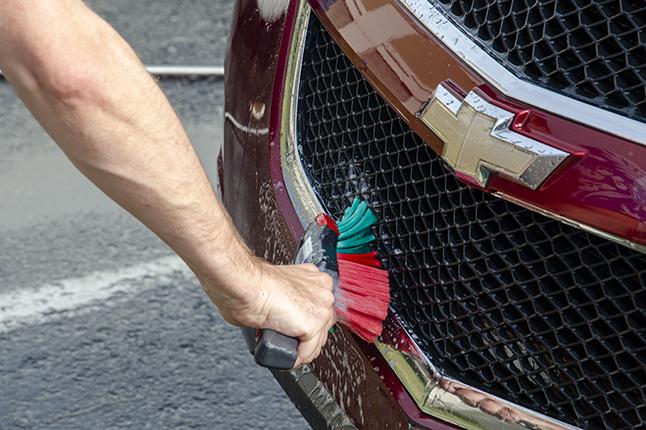 Vikan Transport line hand brush