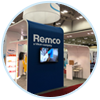 Remco trade show booth