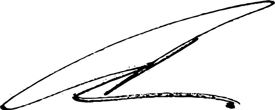 Christopher Griffin signature