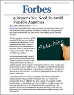 Don't Buy an Annuity
