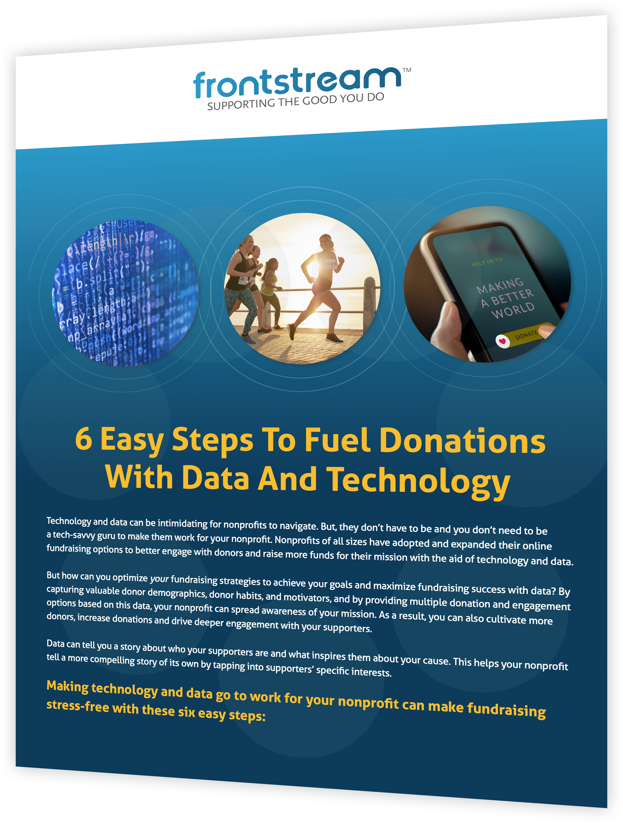 Data Fueling Donations