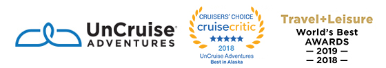 2017 UnCruise                                                  Awards