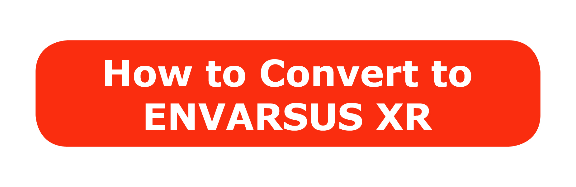 How to Convert to ENVARSUS XR button