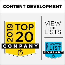 2019 Top 20 Content Development and Watch List
