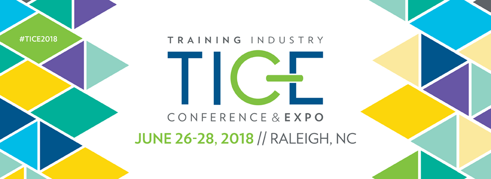 TICE 2018 - June 26-28, 2018 - Raleigh, NC