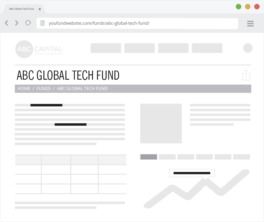 6 Essential SEO factors for the perfect Fund web page