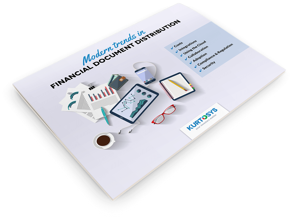 Modern Trends in Financial Document Distribution